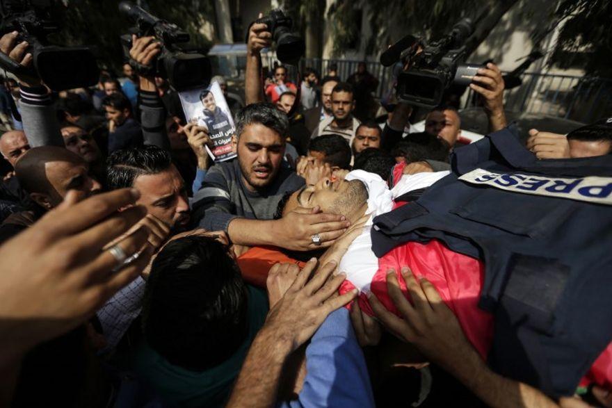 FDI niega haber atacado deliberadamente a periodista palestino muerto en Gaza