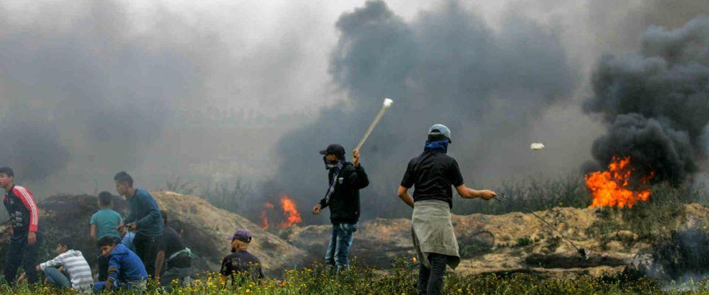 Si los judíos marcharan hacia las fronteras árabes ¿quedaría uno vivo?