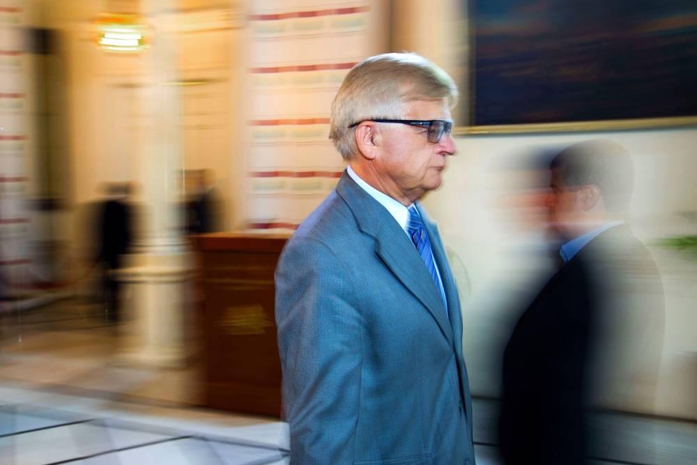 Embajador de Rusia en el Líbano Alexander Zasypkin en Beirut, Líbano, 16 de mayo de 2016. (Hassan Ammar / AP)