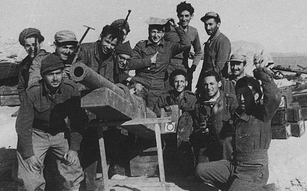 Voluntarios extranjeros durante la Guerra de la Independencia de Israel (foto cortesía de JTA).