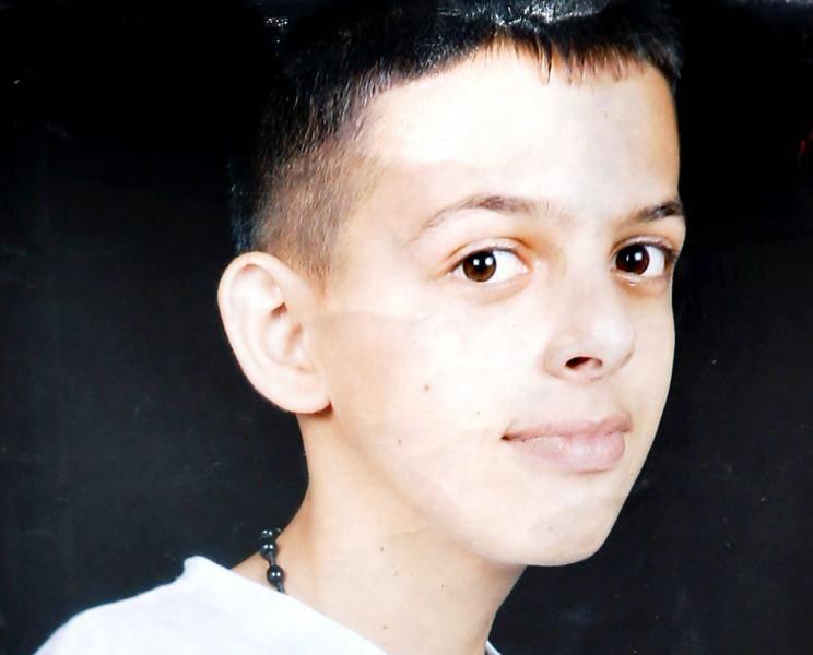 Muhammad Abu Khdeir, visto en una foto proporcionada por su familia.(Cortesía)