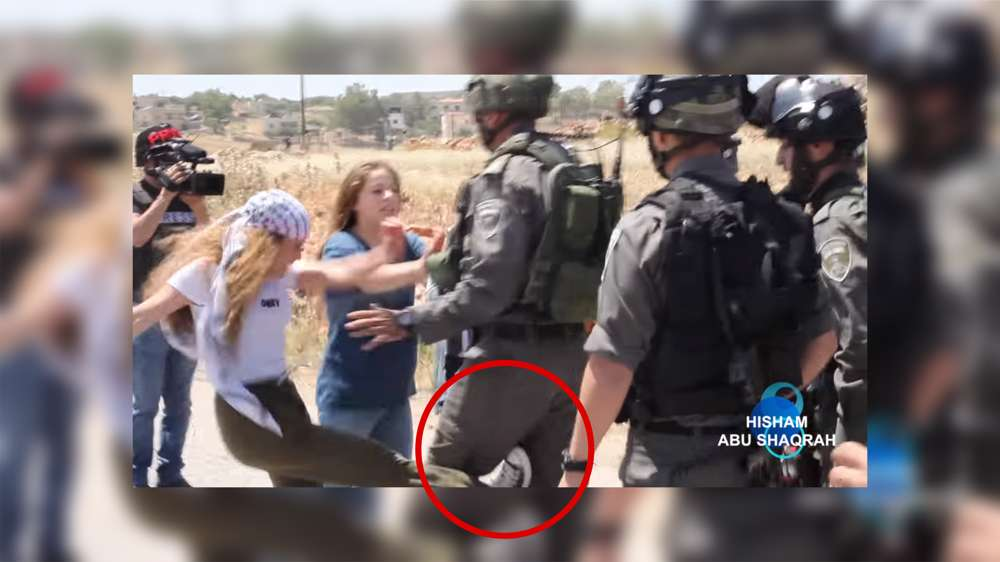 Nuevo vídeo muestra la violencia de Ahed Tamimi
