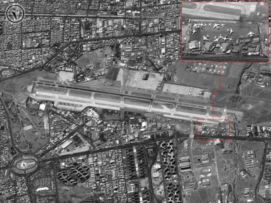 Puesto avanzado Shaham-Shaham de la IAF en Maharash, Irán (Portavoz de las FDI)