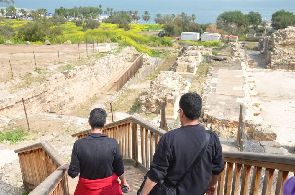 Un teatro en Tiberias, parte del nuevo Sendero del Sanedrín de 70 kilómetros en Galilea.(Autoridad de Antigüedades de Israel)