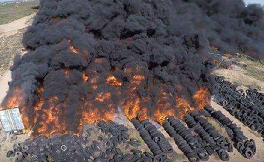 Cielos negros sobre la Franja de Gaza