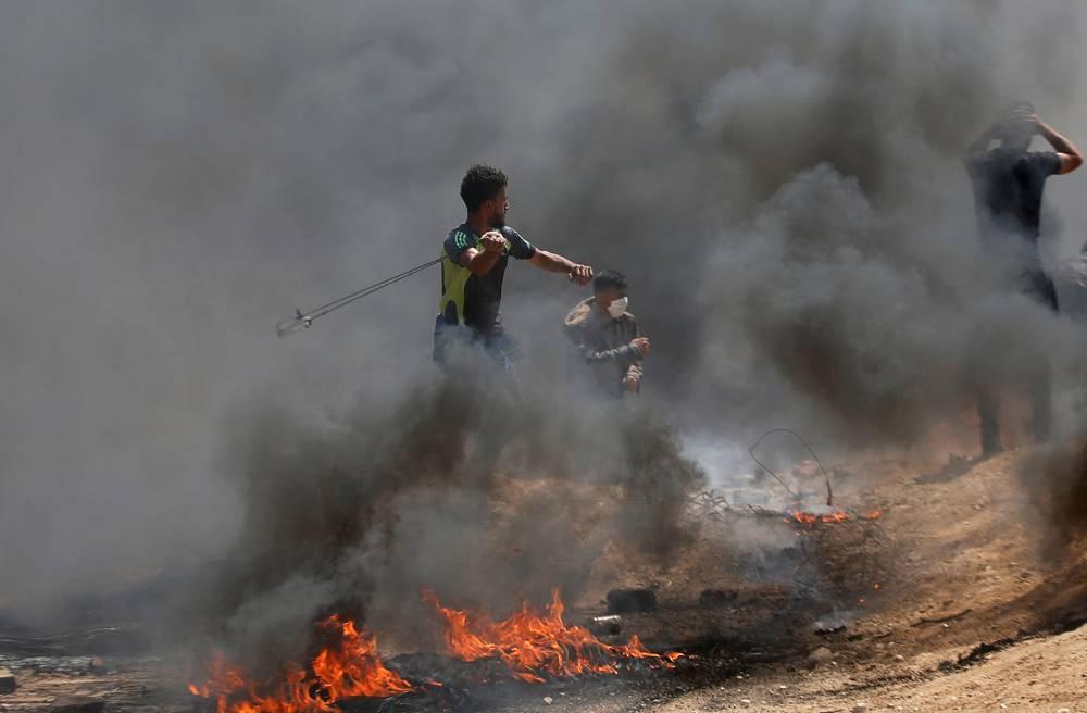 Hordas islamistas atacan a Israel (Foto: Reuters)