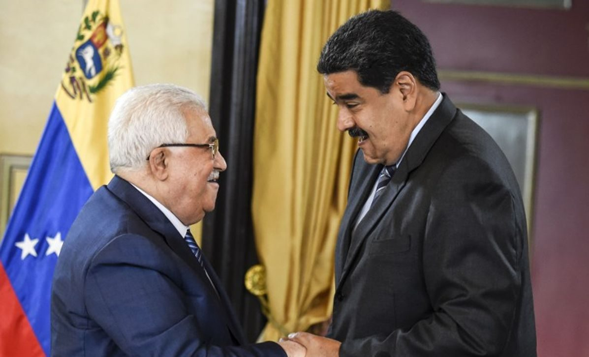 Abbas desde Venezuela envía mensaje a países de Latinoamérica