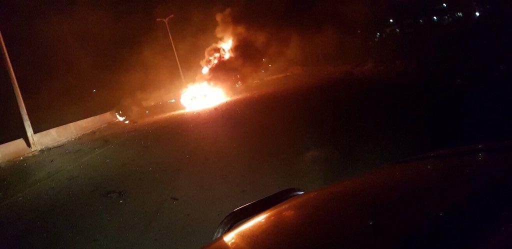 Israel atacó una base vinculada a Irán en Damasco - Informes en Siria