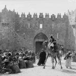 Comerciantes en la plaza de la Puerta de Damasco 1898 1919