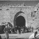 Comerciantes en la plaza de la Puerta de Damasco 1920 1900