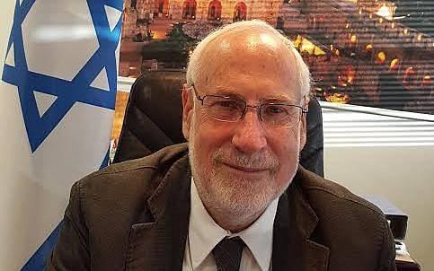 El embajador de Israel en Irlanda, Ze'ev Boker.(Ministerio de Asuntos Exteriores de Israel)