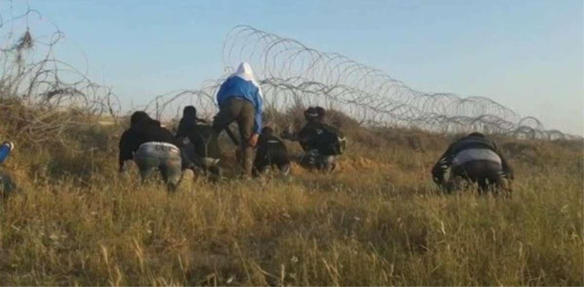 Islamistas intentan cruzar a Israel