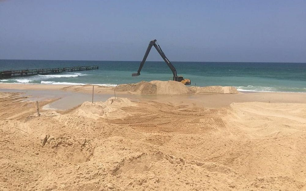 Israel comienza a construir barreras marítimas para impedir ataques de Gaza