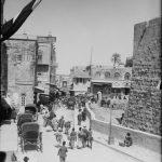 La entrada a la Ciudad Vieja desde la Puerta de Jaffa 1898 1946