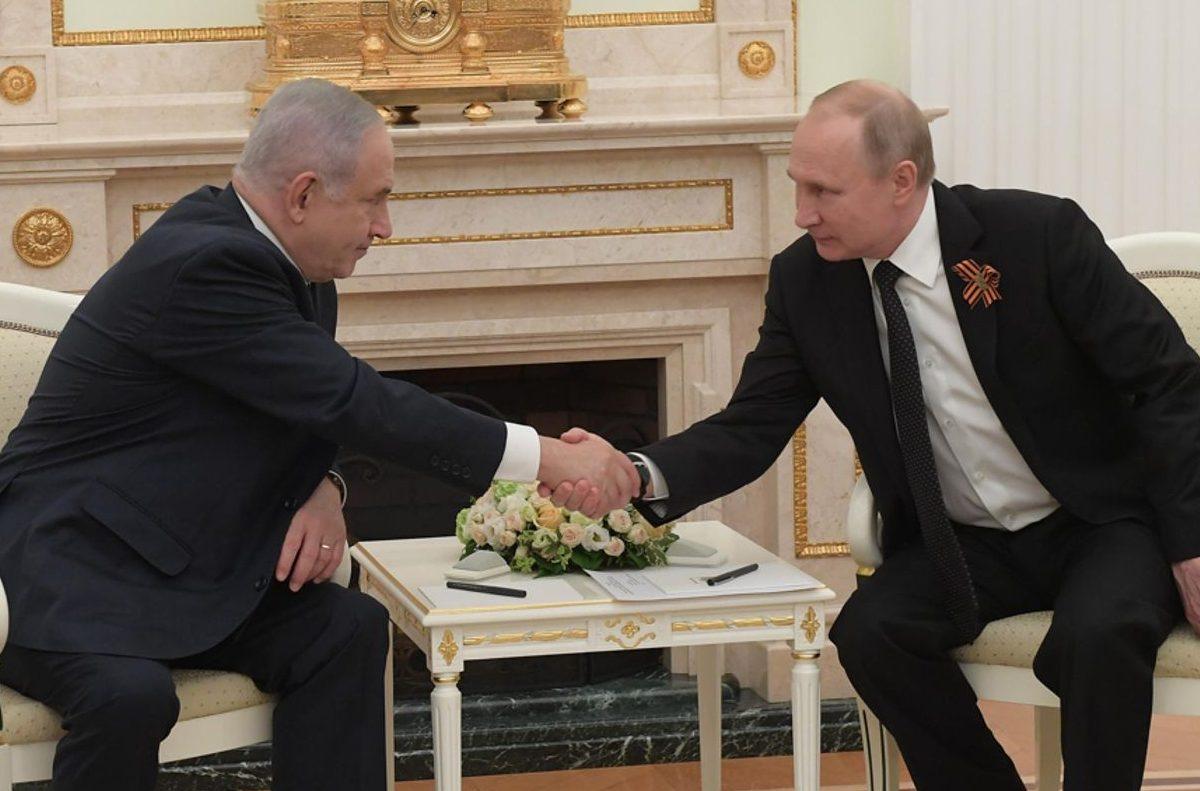 Netanyahu a Putin: es deber y derecho de Israel defenderse de Irán en Siria