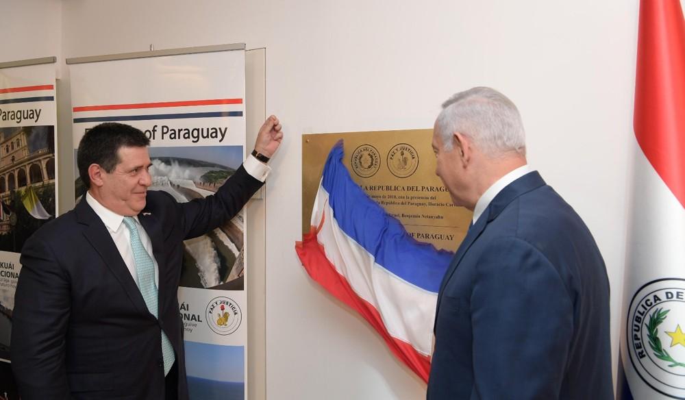Paraguay abrió su embajada en Jerusalem