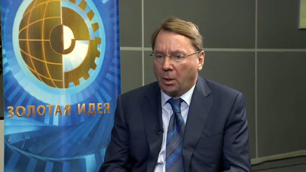 Vladimir Kozhin, ayudante del presidente ruso Vladimir Purin, entrevistado el 22 de diciembre de 2017. (Captura de pantalla: VBOX7)