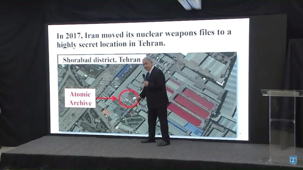 Casi un año después, OIEA examinó almacén donde Netanyahu dijo que Irán ocultó material nuclear