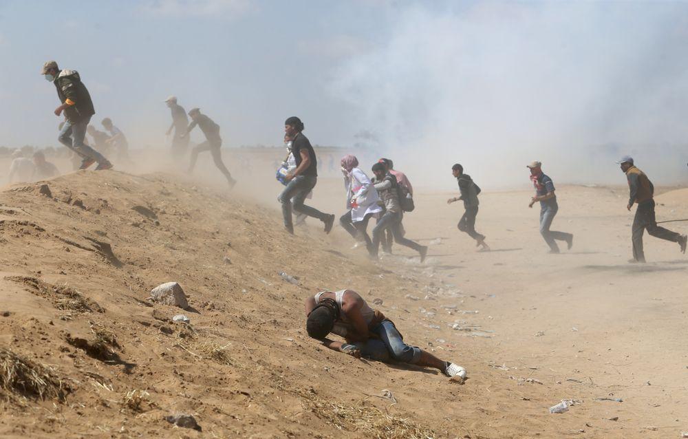 Islamistas de Gaza intentan infiltrarse en Israel. (Foto: Reuters))