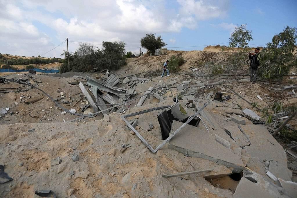 Fotos de los daños causados por los ataques de las FDI en la Franja de Gaza