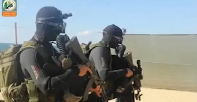 Unidad de Comando Naval de Hamas (Foto: Unidad del Portavoz de las FDI)