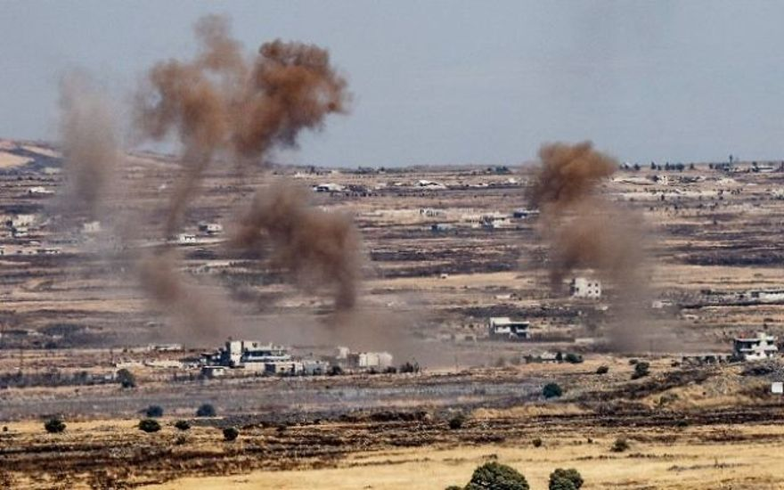 Hezbollah se está retirando de la frontera entre Israel y Siria, Irán se niega