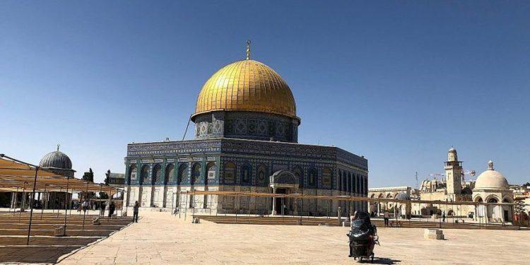 Proyecto de limpieza musulmán 'tierra antigua alterada y removida' en el Monte del Templo
