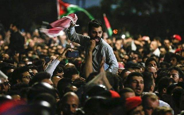 manifestante sjordanos
