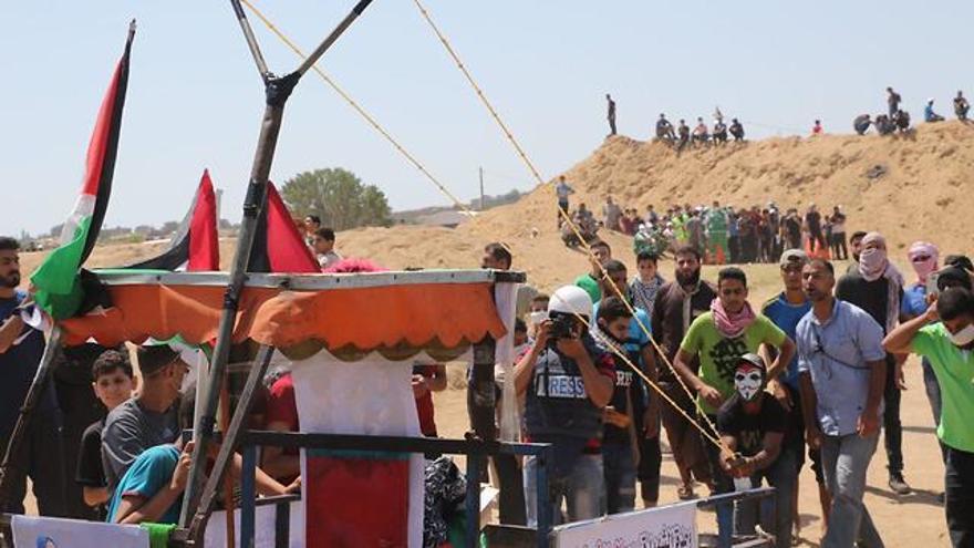 Un francotirador cada 20 metros, con vista a la casa de Sinwar