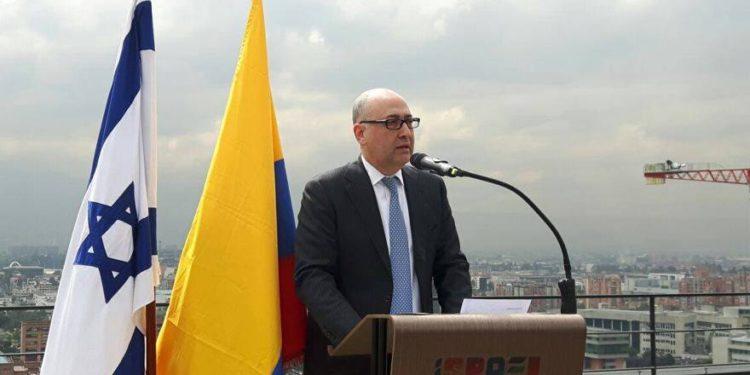 El embajador israelí en Colombia felicitó al presidente electo Iván Duque
