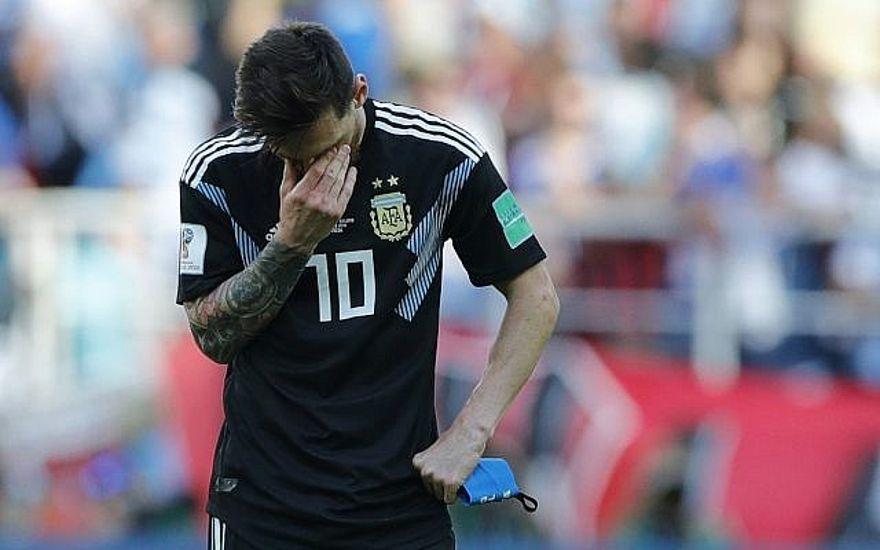 Liberman: Messi falló penalti porque Argentina canceló el juego de Israel
