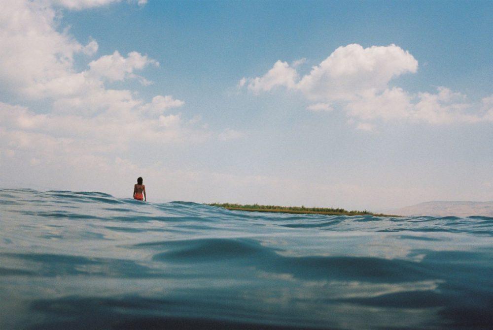 El Mar de Galilea, Maagan Beach. (Daniel Tchetchik)