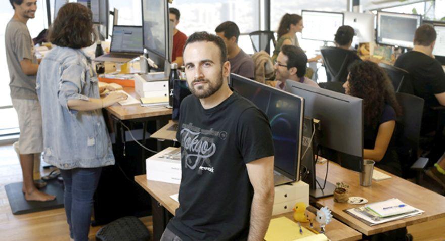 WeWork ejecutivo Ron Gura. Foto: Amit Sha'al