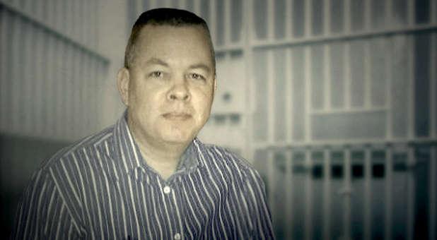 """El pastor estadounidense Andrew Brunson, detenido en una prisión turca por cargos infundados de """"terrorismo"""" y """"espionaje"""". (Foto: Centro Americano de Derecho y Justicia)"""