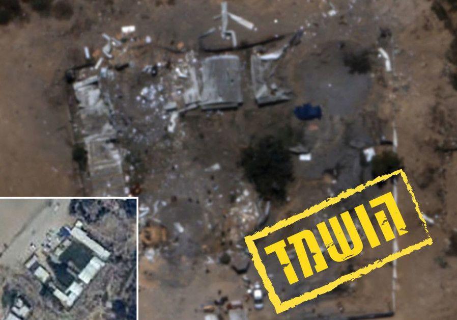 Destrucción del cuartel general del batallón Hamas en Zeitoun en la Franja de Gaza. (Unidad del Portavoz de las FDI)