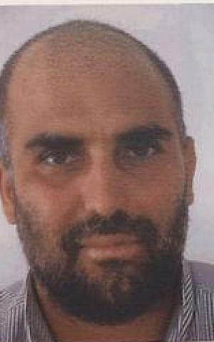 Firas al-Omari, un árabe israelí condenado por planear un ataque terrorista contra soldados de las FDI. (Shin Bet)