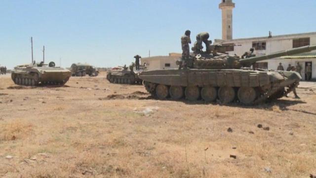 Régimen de Assad recupera control de la frontera con Israel