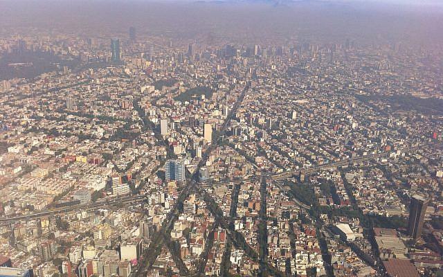 Una vista aérea de la ciudad de México. (Wikipedia / Fidel Gonzalez / CC BY 3.0)