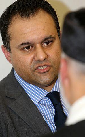 Fiyaz Mughal, el director de Faith Matters. (Crédito de la foto: Marc Morris / cortesía)