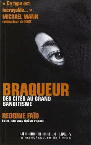 Una portada del libro 'Braqueur' de Redoine Faid.(captura de pantalla: Amazon.com)