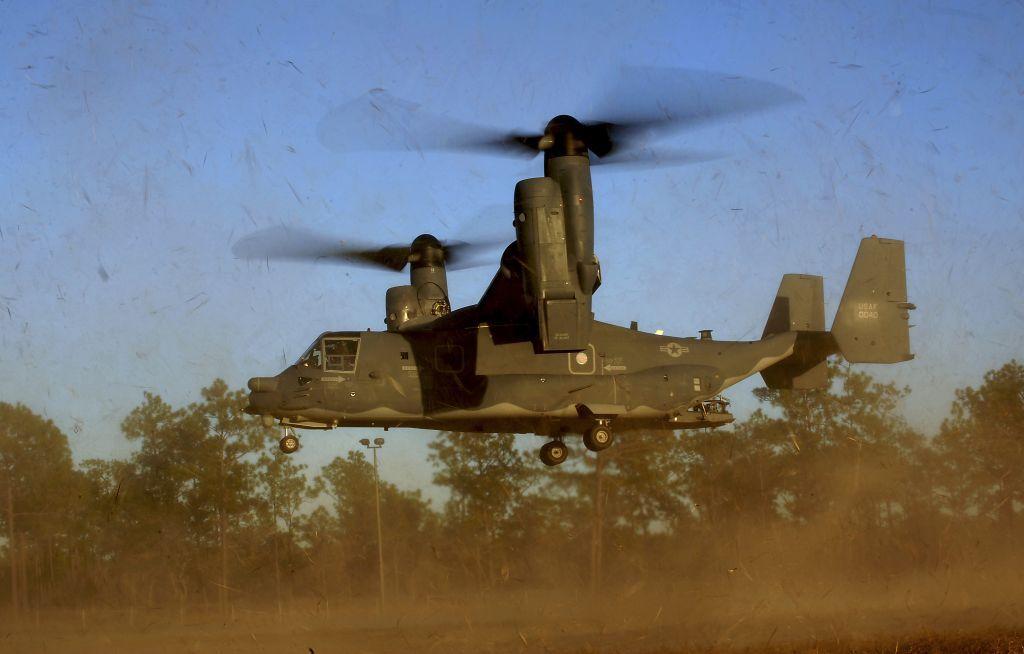 Ilustrativo: Un avión CV-22 Osprey del 8º Escuadrón de Operaciones Especiales (SOS) en Hurlburt Field, Florida, 26 de enero de 2011. (Fuerza Aérea de los EE. UU., Sargento Maestro Jeremy T. Lock)