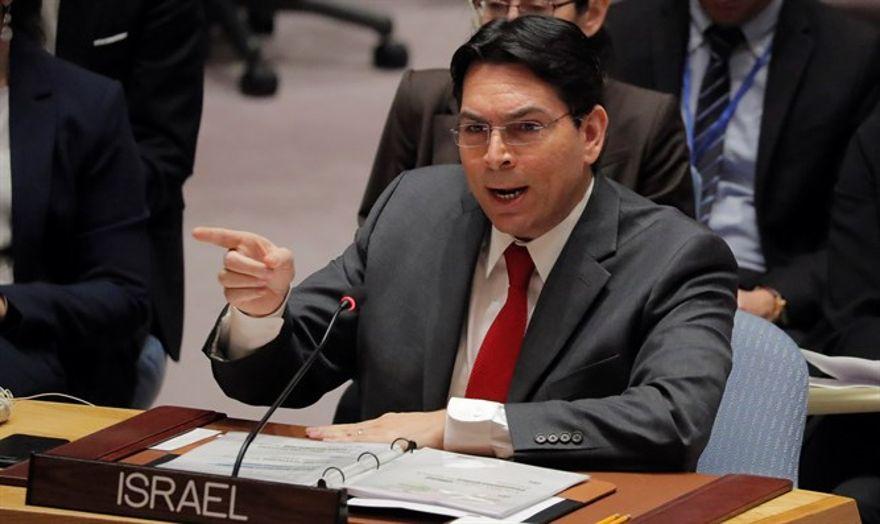 El enviado de Israel pide a la ONU que condene el ataque terrorista