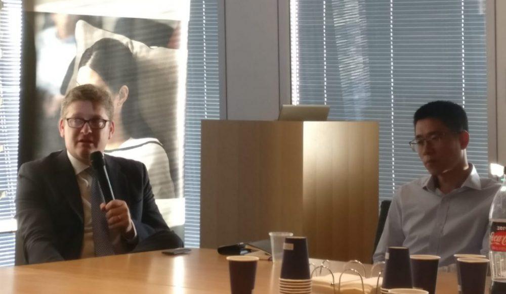 Dorian Barak y Eric Wang. Cortesía