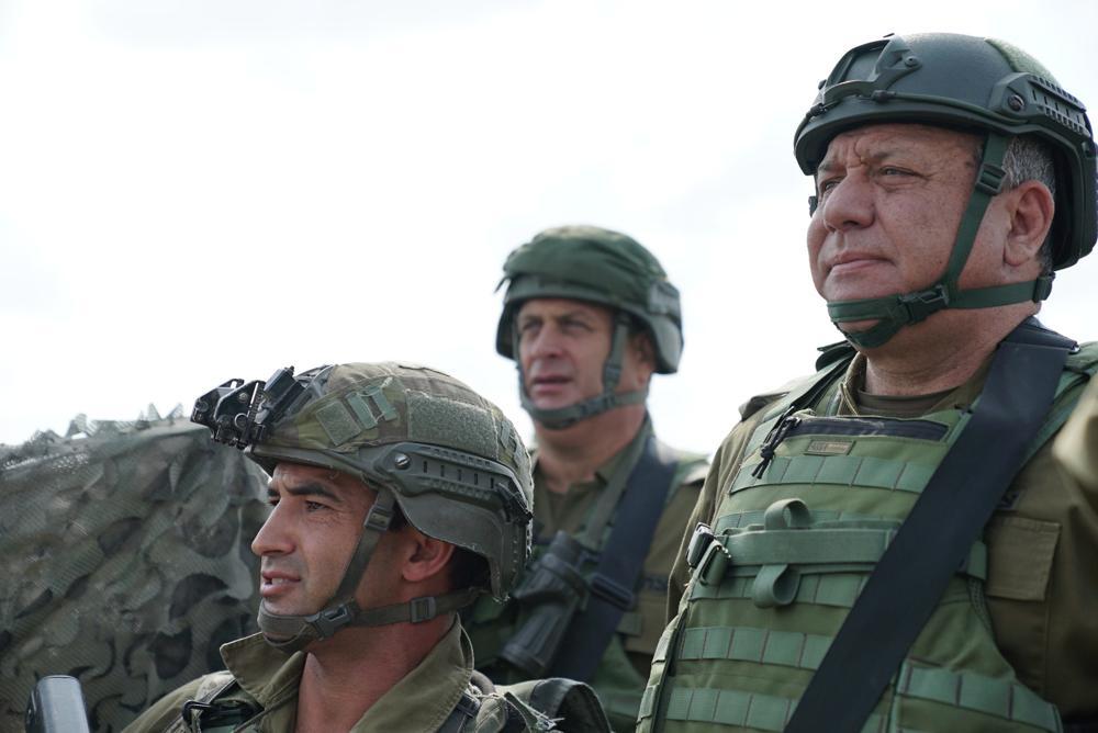 El Jefe de Estado Mayor de las FDI visita el punto donde cayó el Sargento Aviv Levi HY''D (FDI)