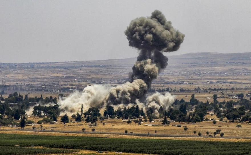 Aviones israelíes atacaron objetivos en el norte de Siria