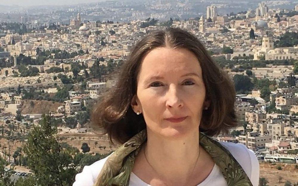 Monika Schwarz-Friesel. (Marc Neugröschel / Times of Israel)