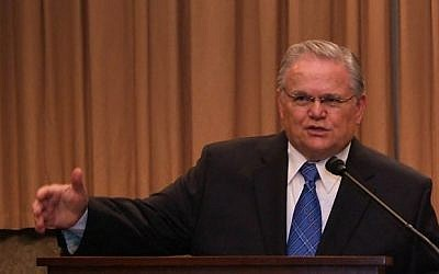 Pastor John Hagee (crédito de la foto: Cristianos Unidos por Israel)