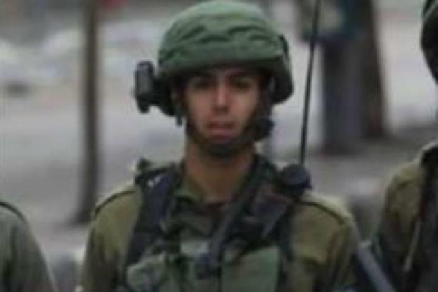 Una foto sin fecha del sargento Aviv Levi de la Brigada Givati de las FDI, que fue asesinado por francotiradores desde Gaza el 20 de julio. (Cortesía)