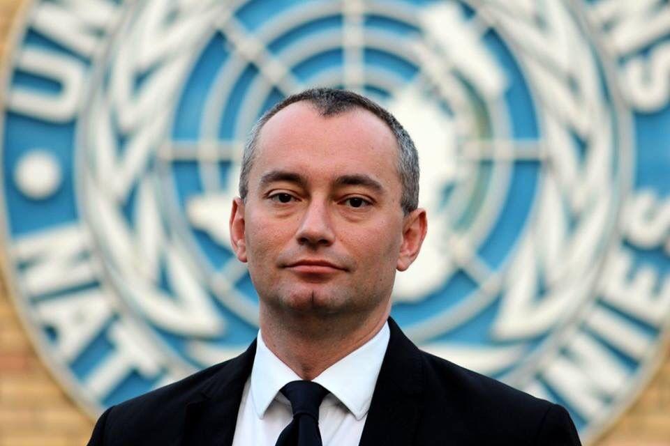 Coordinador especial de la ONU Nikolay Mladenov, 9 de febrero de 2015. (CC BY-SA Ottokars, Wikipedia)