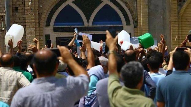 Iraníes protestan por escasez de agua (UCG)
